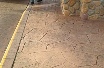 Bomanite, Architectural Concrete, Decorative Concrete, imprinted concrete, stamped concrete by Belarde Company, Seattle, Washington