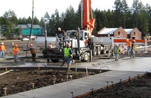 PCC concrete paving, sidewalks, curbs, gutters, by Belarde Company