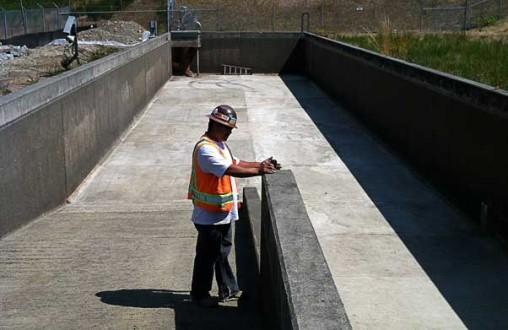JBLM Oil Separator Outfall, Belarde Company, structural concrete, concrete walls