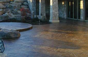 Bomanite, imprinted concrete, stamped concrete, decorative concrete, architectural concrete, Belarde Company, Seattle