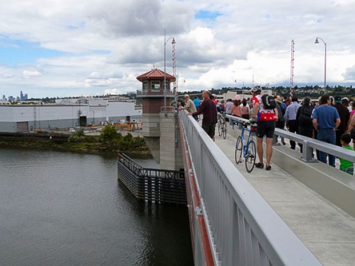 The South Park Bridge civil/site concrete project in Seattle--awarded to the Belarde Company.
