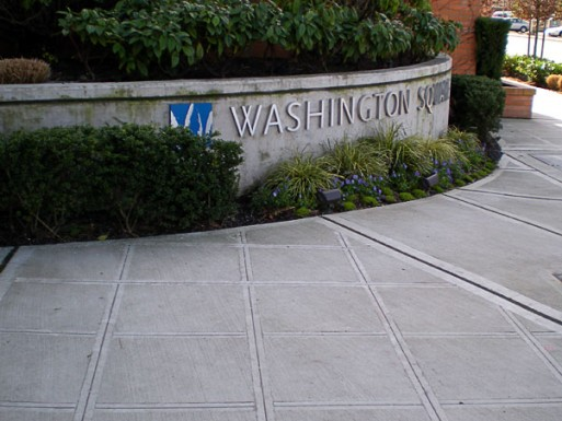 The Washington Square civil site concrete project in Bellevue, Washington was awarded to the Belarde Company