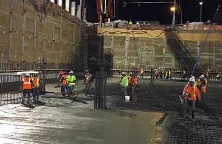 site concrete, civil concrete, PCC paving