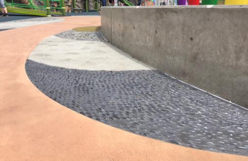 Lithocrete, Lithomosaic, Decorative concrete, Architectural concrete, site concrete, structural concrete