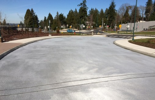 Decorative concrete, Seattle, PCC paving, Bomanite stamped concrete, Bomanite imprinted concrete, walls, benches, plynths, sidewalks, concrete, Belarde Company