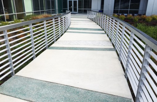 Lithocrete, pervious concrete, paving system, architectural concrete, decorative concrete, Belarde Company, Seattle