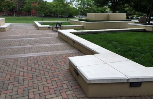 cast in place concrete, precast architectural concrete, concrete paving, concrete plinths, by Belarde Company