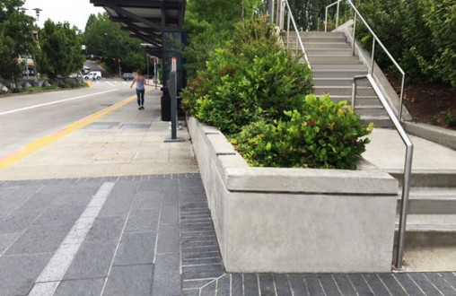 Kirkland Transit Center, Belarde Company, PCC paving, site concrete, structural concrete, walls, stairs