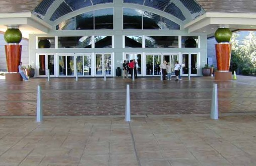 Tulalip Casino, Bomanite, Belarde Company, English Slate, imprinted concrete, stamped concrete, decorative concrete, architectural concrete, Seattle