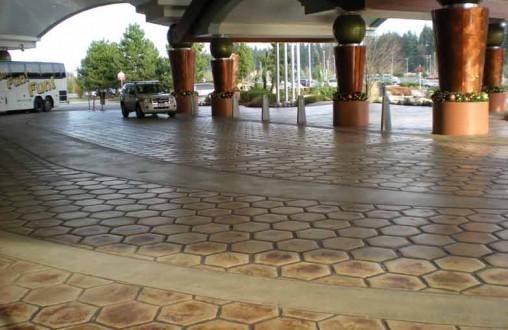 Tulalip Casino Bomanite Decorative Concrete Belarde Company