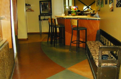 Bomanite, Bomanite Microtop, Belarde Company, decorative concrete, colored concrete, architectural concrete, Seattle