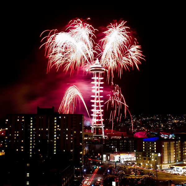 Denver New Years Fireworks6 By Niel4: The Belarde Company Wishes You A Prosperous And Happy New