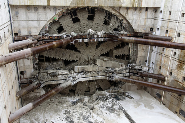 Bertha Breaking Through