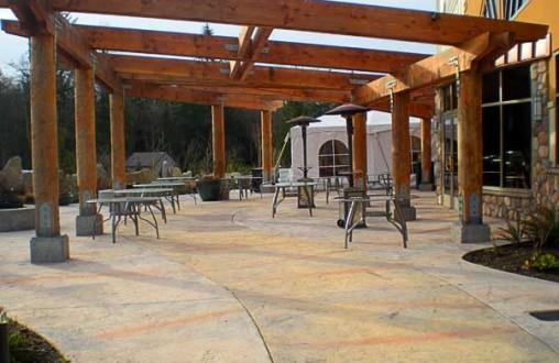 Bomanite, Architectural Concrete, Decorative Concrete, imprinted concrete, stamped concrete by Belarde Company, Seattle, Washington