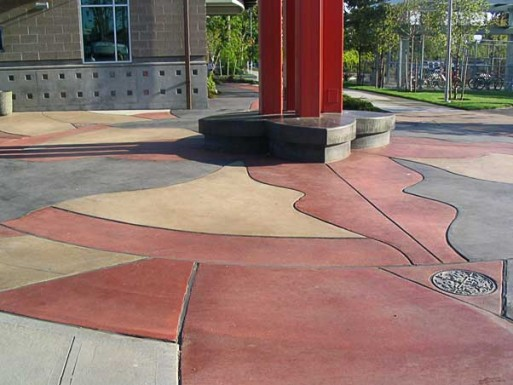 The Overlake Transit Center architectural concrete project in Redmond, Washington was awarded to Seattle concrete contractor the Belarde Company.