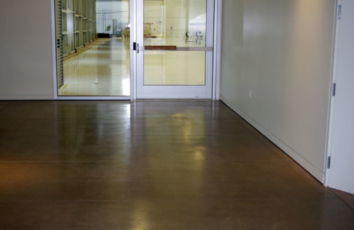 decorative seeded concrete, polished concrete, interior concrete flooring, concrete site work, precast concrete
