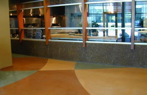 Bomanite, Bomanite Microtop, Belarde Company, decorative concrete, colored concrete, architectural concrete, Seattle